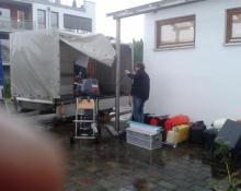 Elba 2016 - Beladen bei Regen