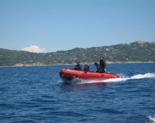 Tauchclub Plattling - Vereinsboot