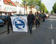 Volksfestauszug Plattling 2016