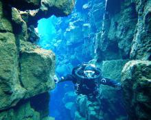 Ralf Saller: Island unter Wasser