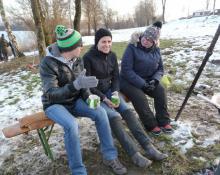 2015 - Antauchen am Luberweiher | Tauchclub Plattling