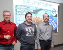 Die Referenten Richard, Martin und Günther