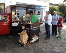 Sommerfest 2016 // Kaffee-Ape